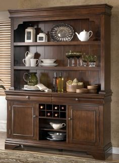 Belcourt Transitional Buffet Hutch By Signature Design Ashley