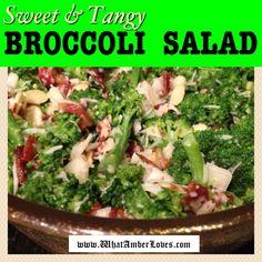 Broccoli Salad ~Sweet & Tangy
