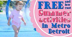 Metro Detroit Mommy: Fun #Free or Low Cost Summer Ideas #summerfun #MetroDetroit