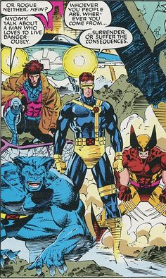 For all your X-men needs X-men comics- Where to start Hq Marvel, Marvel Comics Art, Marvel Comic Books, Comic Book Characters, Marvel Characters, Comic Character, Comic Books Art, X Men Costumes, Comics Vintage