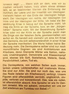 Babylonische Sprachver(w)irrung? – Gerd J. Eugene Ionesco, Author, Language