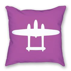 Decorating an aviation themed nursery? Here's the perfect throw pillow for you. https://www.littlepilotslounge.com/collections/pillows/products/bright-airplane-pillow-3?variant=17132085446