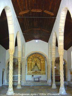 Interior Igreja Santa Maria de Alcaçova