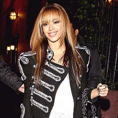 Beyoncé | Bangin' Bangs #bangs #Beyonce www.paulmitchell.edu