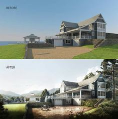72 Best Photorealistic Night Render Images Architecture