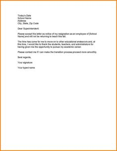 Employee Termination Letter The Employee Termination