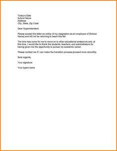 Employee Termination Letter The Employee Termination