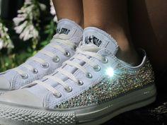 Swarovski Crystal Converse All Stars por TheSparklingEffect en Etsy