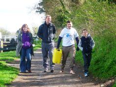 Andy Escott's 10km barefoot walk!