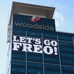 Another sign that Perth has joined Freo as Dockers land Saint George, Perth, Letting Go, Skyscraper, Let It Be, Building, Fathers, Football, Sign