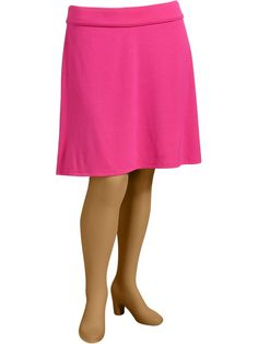 Old Navy   Women's Plus Fold-Over Jersey Skirts