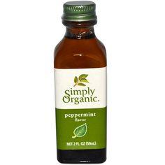 Simply Organic, Pfefferminzaroma, 2 fl oz (59 ml)
