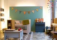 Babykamer babyroom kleur earlydew flexa bed sebra kili