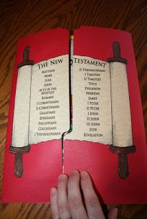 New Testament Lap Book