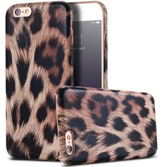 Pouch For Apple iphone 5 5S SE Slim Sexy Leopard Print Leather Acrylic Cover PU Back Mobile Phone Case Coques For iphone 5 5s SE