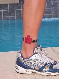 Risultati immagini per swim bike run tattoo