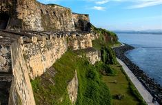 El Morro, Puerto Rico. You can walk through the six stories of this famous fortress, including a maze of tunnels, barracks and prison cells.