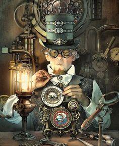 Clockwork master