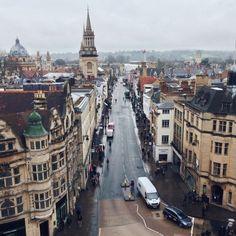 High Street, Oxford - England
