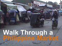 Walk Through a Philippine Market
