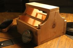 How to make a shoe shine box by hand in less than an hour.