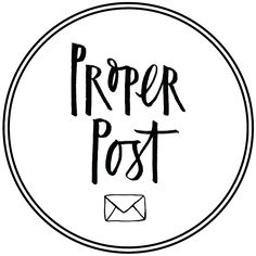 Proper Post - Greeting Cards and Stationery Subscription Service Subscription Boxes, Stationery, Greeting Cards, Stationeries, Stationery Shop, Paper Mill, Office Supplies