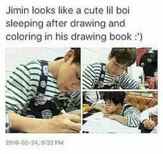 Aww...Jimin Is Squishy!!! I Just Wanna Hug him to Death!!! // PLUS he looks SUPER CUTE (and I mean SUPER) in that outfit