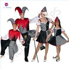 #Disfraces de #Carnaval de #Payasos para grupos #mercadisfraces tienda de…