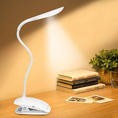 Strong-Willed Mini Flexible Book Light Clip On Night Light Bright Led Desk Reading Light Lamp Table Lamp Travel White Light Excellent In Cushion Effect Lights & Lighting
