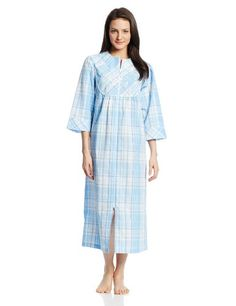 Miss Elaine Robe Snap Front Brushed Back Terry Short Robe
