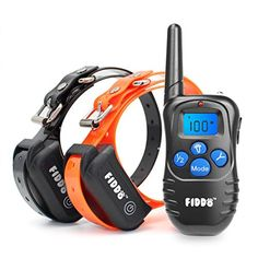 Fiddo Electric Dog Collar 330 Yards Remote Dog Training E-collar with Beep/Vibration/Shock Electric - http://dogtraininginfo.nationalsales.com/fiddo-electric-dog-collar-330-yards-remote-dog-training-e-collar-with-beepvibrationshock-electric/