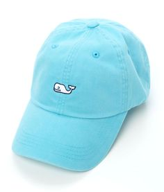 Vineyard Vines Signature Whale Logo Baseball Hat- Aqua Blue from Shop  Southern Roots TX 6b0469dc0