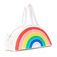Bando Rainbow Super Chill Cooler Bag!  Our Bando Cooler bags not only keep your drinks cool, they also double as an insanely cute bag! Your beach game just keeps on getting more and more epic.  Little Boo-Teek - Bando Super Chill Cooler Bag - Rainbow | Kids Gifts Online | Kids Online Shopping