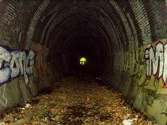 Abandoned Railway Tunnel, Highgate, London by SteveM51, via Flickr