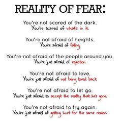 6 Harsh Truths About The Reality Of Fear You May Not Realize