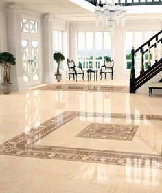 High Gloss Dorian Indoor Tile Floor Porcelain Stoneware Victorian Pattern By Ceracasa Ceramica