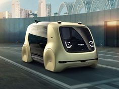 There's no reason a self-driving car should look like a car, and this Volkswagen doesn't.