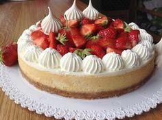 VÍKENDOVÉ PEČENÍ: Cheesecake s jahodami Food Items, Cheesecake, Cupcakes, Pizza, Blog, Foods, Mini, Beautiful, Shopping