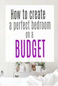 Do you long to know how to create the perfect bedroom on a budget - well here are my top tips for beautiful bedroom decor and design Home Decor Inspiration, Decor Ideas, Decorating On A Budget, Beautiful Bedrooms, Home Renovation, Cheap Home Decor, Bedroom Decor, Girls Bedroom, Bedroom Ideas