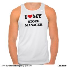 I love my Store Manager New Balance Running Tank Top Tank Tops