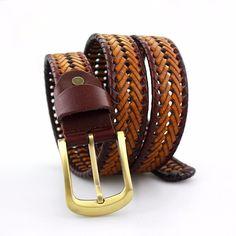 1769f93ad IMG_3026 Cinturones De Moda, Cinturones Anchos, Piel De Vaca, Genuino,  Proveedor,