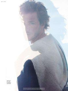 Gaspard Ulliel por Julien Vallon para L'Express Styles