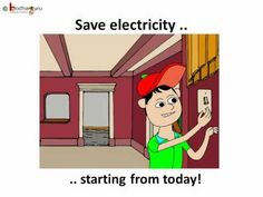 Energy Saving | Save Electricity | Tips For Kids | Animated - YouTube