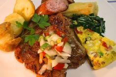 Bisteca de porco 骨付き豚ロースステーキ L-bone Pork Steak