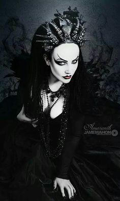 Photography by Jamie Mahon. Model: Lady Amaranth. Headdress: Hysteria Machine