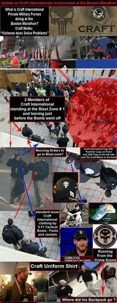 Boston Bombing were a false flag attack.