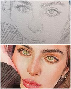 [orginial_title] – R M Drawing people faces portraits colored pencils Trendy ideas Drawing people faces portraits colored pencils Trendy ideas Watercolor Face, Watercolor Artwork, Watercolor Portraits, Watercolors, Portrait Draw, Drawing People Faces, Person Drawing, Drawing Faces, Watercolor Art
