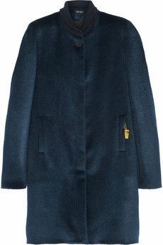 Sophie Hulme Llama and wool-blend coat  | NET-A-PORTER