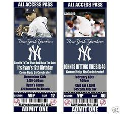 Free Blank admission Ticket Template | Free Templates  |Blank Baseball Game Ticket