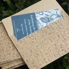 Vintage Floral Lace Envelopes, Set of 10